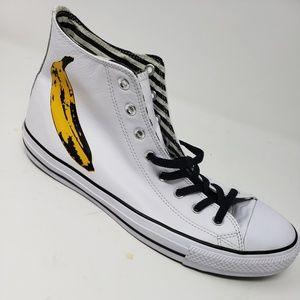 Converse Andy Worhol Banana Hi Top Size 13